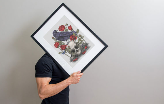 Framed Print Carry Template