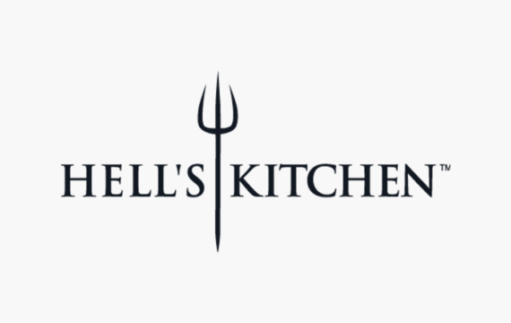 Hells Kitchen Logo Card